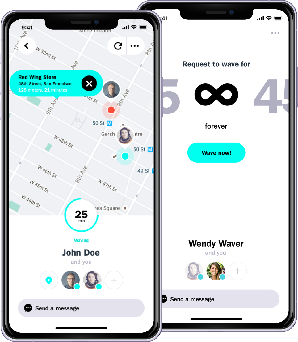 Wave - Location App. Locate your contacts real-time ... Incoming Wave Direction On A Map on electromagnetic wave, spawn wave, steady wave, next wave, space wave, maroon wave, laser wave,